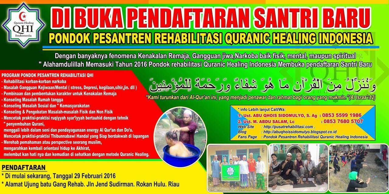 PONDOK REHABILITASI QURANIC HEALING