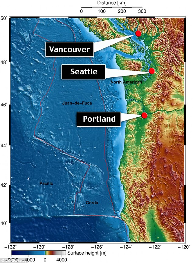 Earth Quake Fault Line New Zealand To Vancouver Island