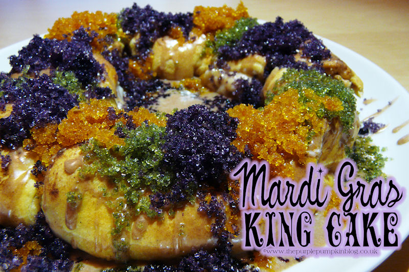 Mardi Gras King Cake » The Purple Pumpkin Blog