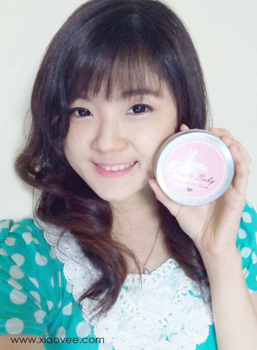 little baby thailand, body white cream