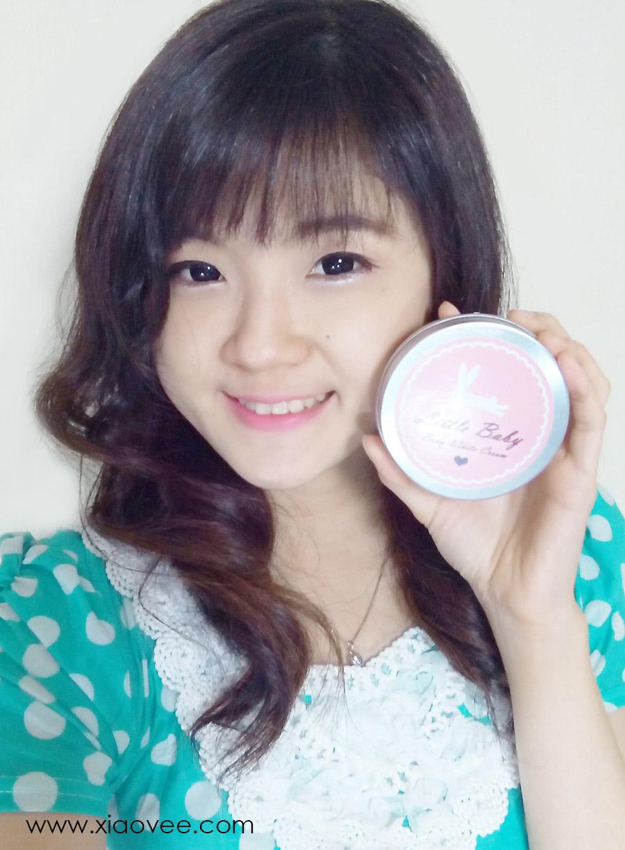 little baby thailand, body white cream