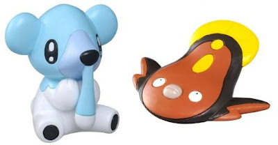 Pokemon Figure Tomy MC Cubchoo Stunfisk