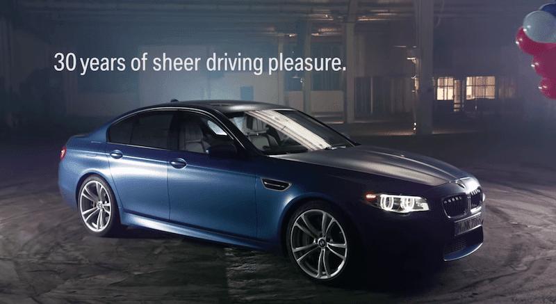 BMW M5 30周年