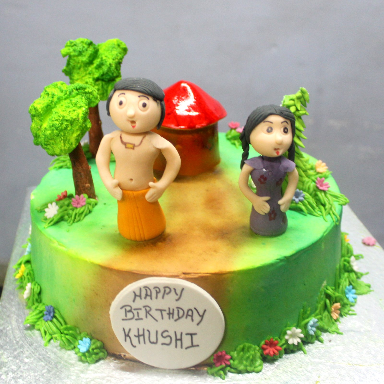 Cake Images Of Chota Bheem : Chotta Bheem Theme Cake Photo Album