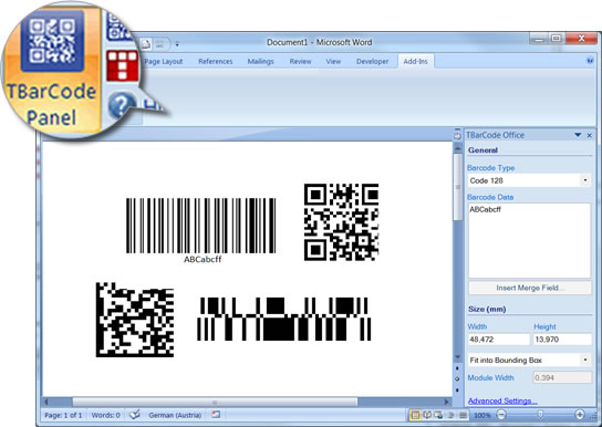 activation key tbarcode office