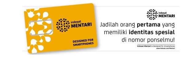 Indosat - Mentari PNS (Pilih Nomor Sendiri)