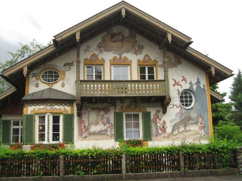 Luftlmalerei | House Paintings in Oberammergau
