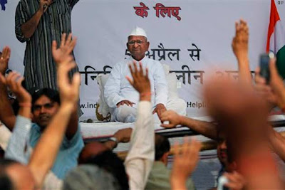 Govt talks to Anna Hazare