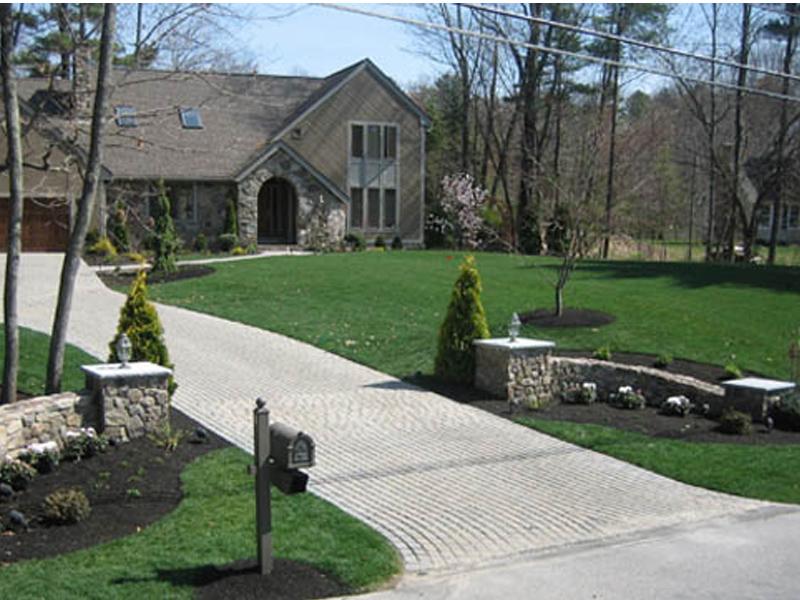 J Buffalo House Brick Driveway Image: ...