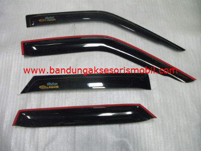 Talang Air Ford Laser Original Black Depan Belakang