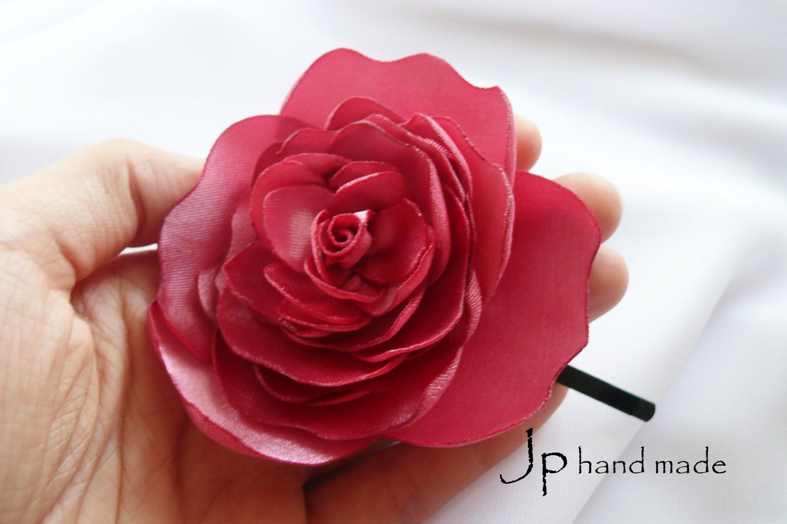 Сделать розу своими руками