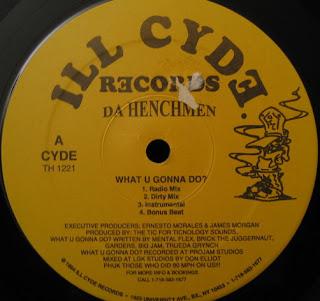 Da Henchmen – What U Gonna Do? / Flippin' With Da Henchmen (VLS) (1994) (VBR)