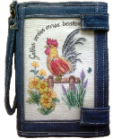 embroidery wallet