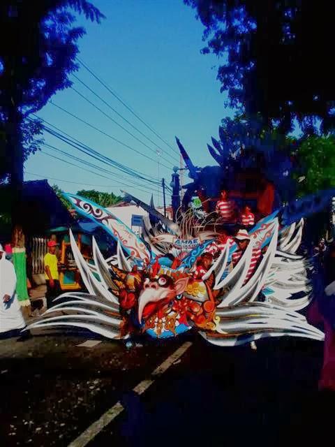 Kirab Budaya Jawa Timur : Pamekasan
