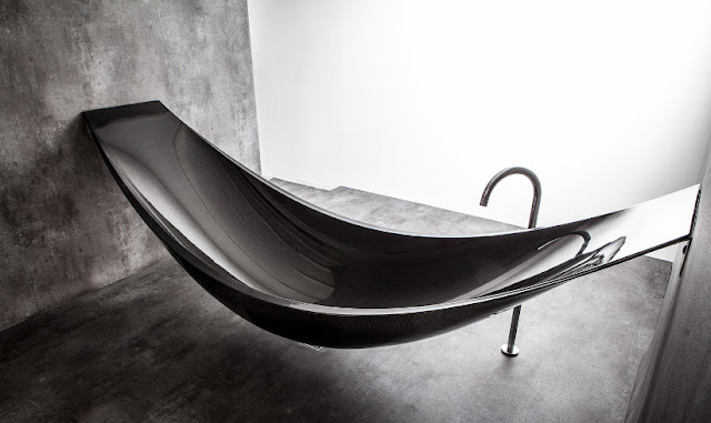 vessel by splinter works hammock bath