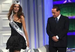 Silvio Berlusconi and friend