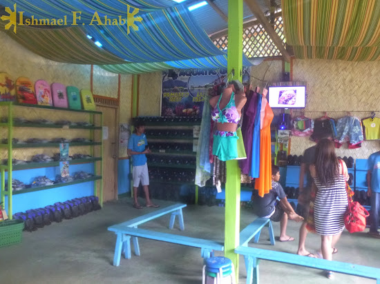 Aquatic Gears: the most FAIL snorkel and booties rental shop in Puerto Princesa, Palawan