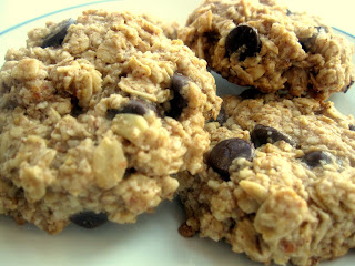 Oatmeal Chocolate Chip Cookies [Gluten-Free!]