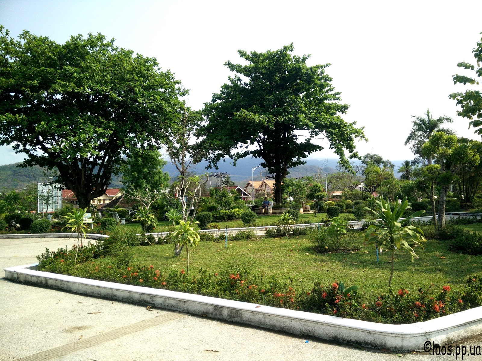Парк в Луангпхабанге