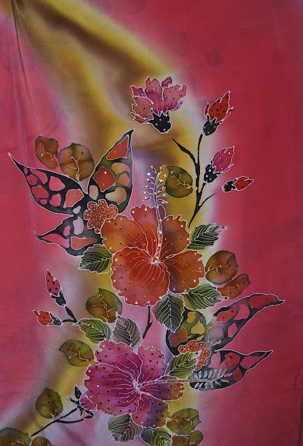 batik sutera cantik sutera crepe