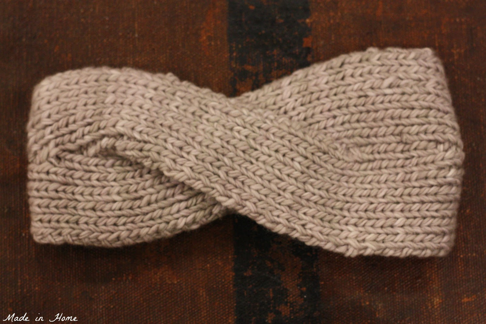 Made in Home: Vintage Headband {Knitting}