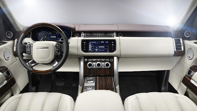 The All-New Range Rover interior