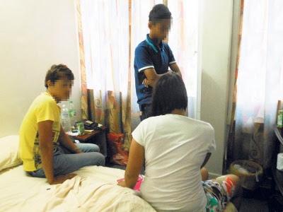 Gadis Berusia 16 Tahun Menjadi Penganjur Pesta Maksiat Di Hotel Sambil Melepaskan Gian Syabu