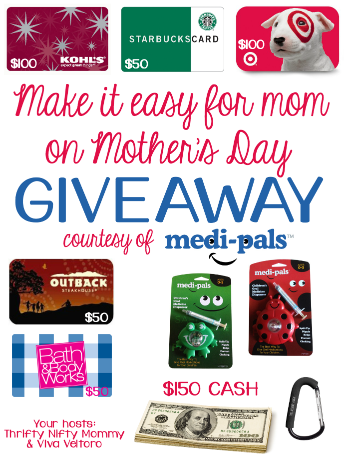 Rambling Thoughts, Thrifty Nifty Mommy, Medi-pals, Mothers day, Giveaway