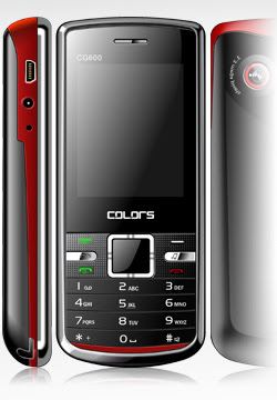 new Colors CG-600 Mobile Phone Review and Specification 2011