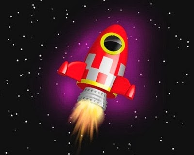 Create a Vector, Space Rocket
