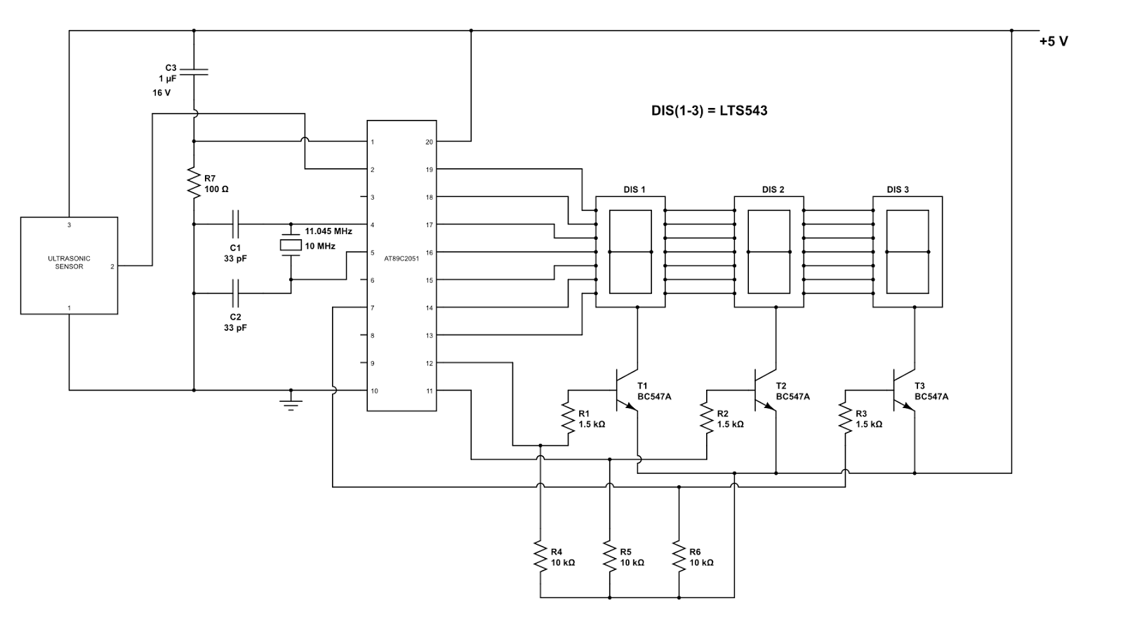 Led Display Using 8051 Microcontroller Outdoor Wiring Diagram Images Of