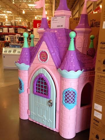 Pink Castle from Costco