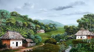 Pinturas Colombianas Paisajes Campestres