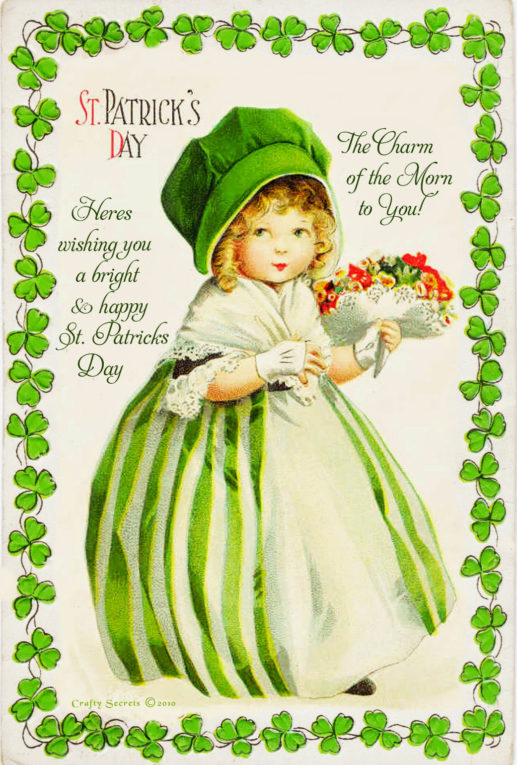 It is a photo of Remarkable St Patrick Day Free Printables