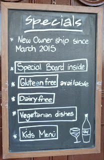 Gluteen free options in Hastings