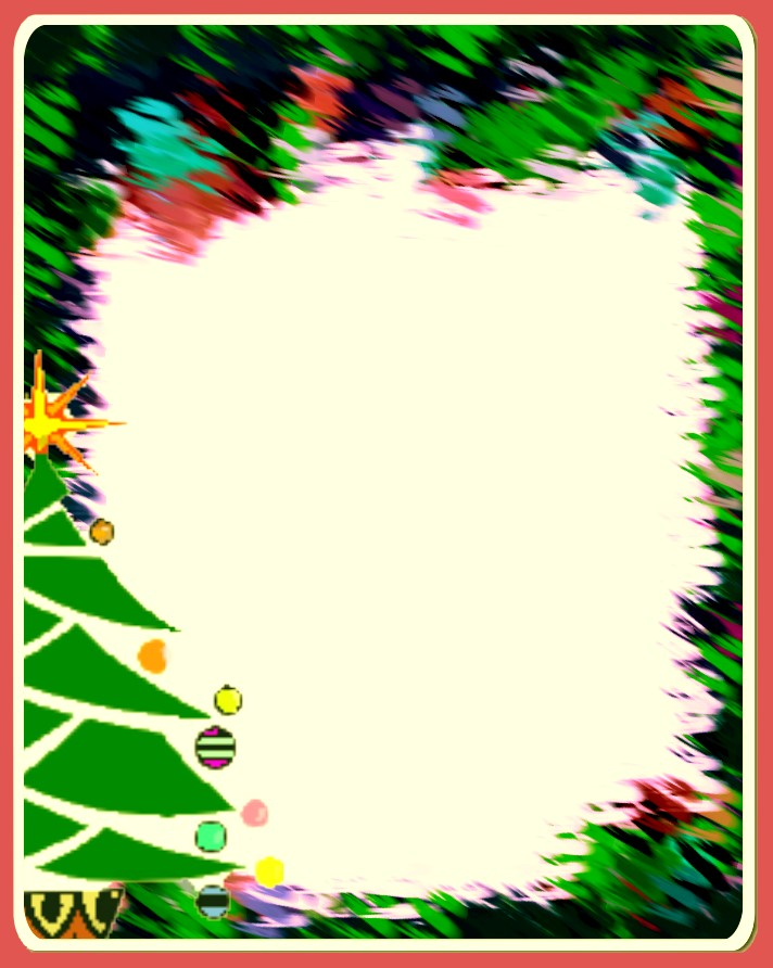 Christian images in my treasure box christmas tree borders