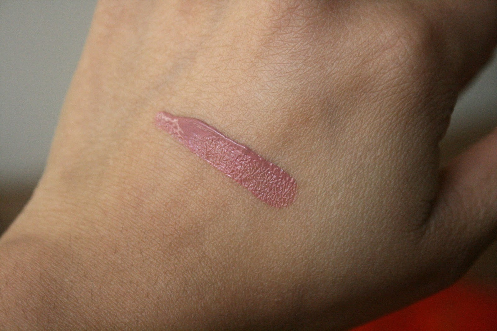 Laura Mercier Paint Wash Liquid Lip Color in Nude Rose Swatch