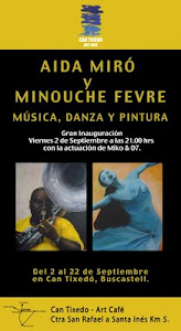 Exposición Aida Miró y Minouche Fevre