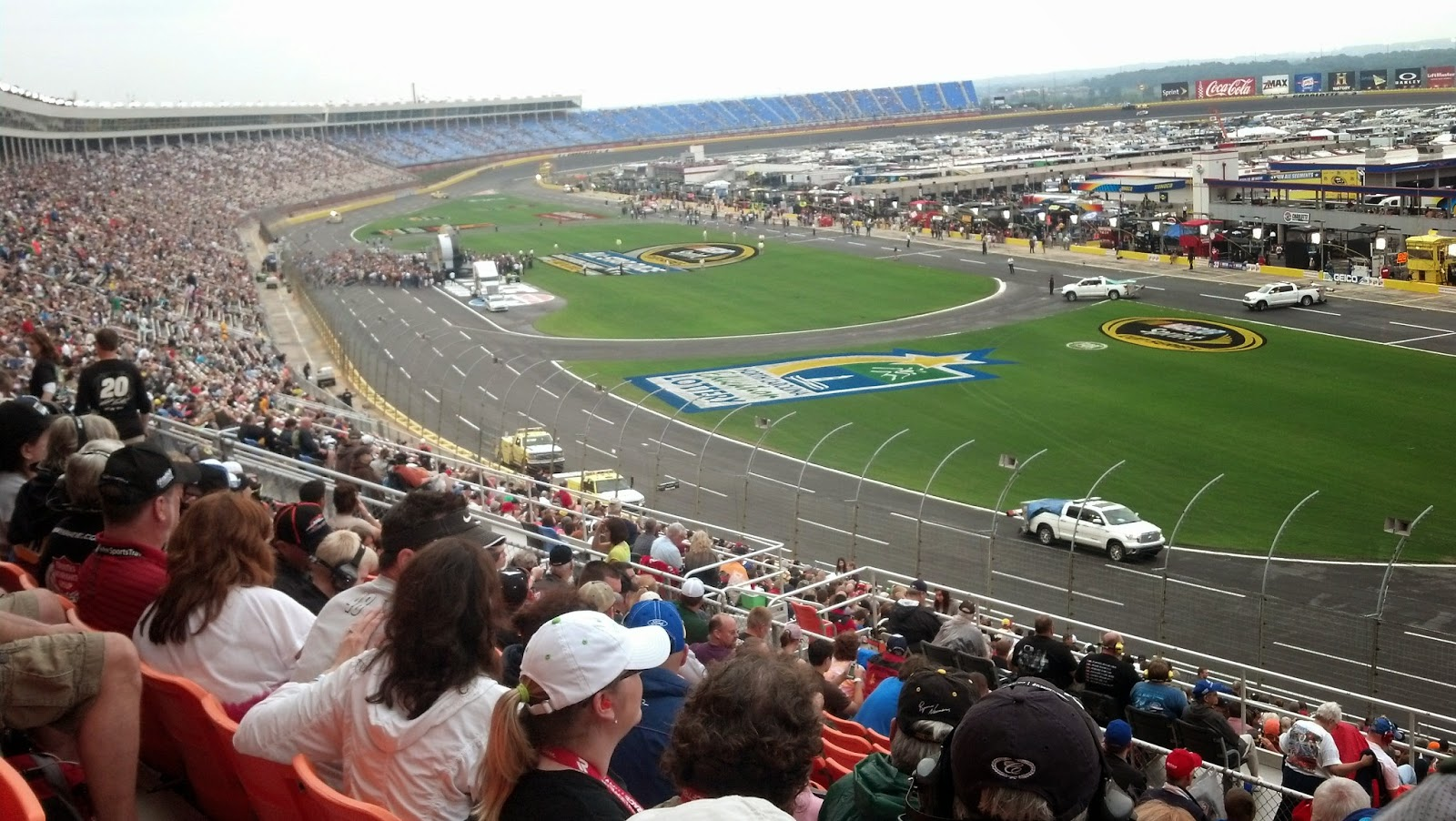 Charlotte motor speedway seating for Charlotte motor speed way