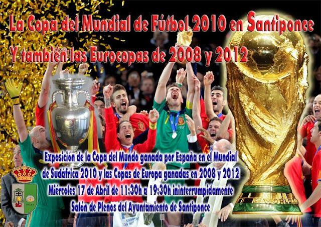 Copa del mundo de fútbol en Santiponce