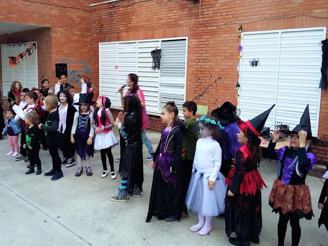 Fiesta infantil Halloween en Huelva
