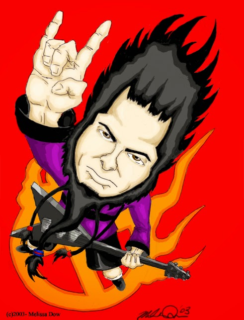 Wayne Static cartoon