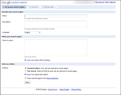 Google Custom Search Pada Search Box Blog 2
