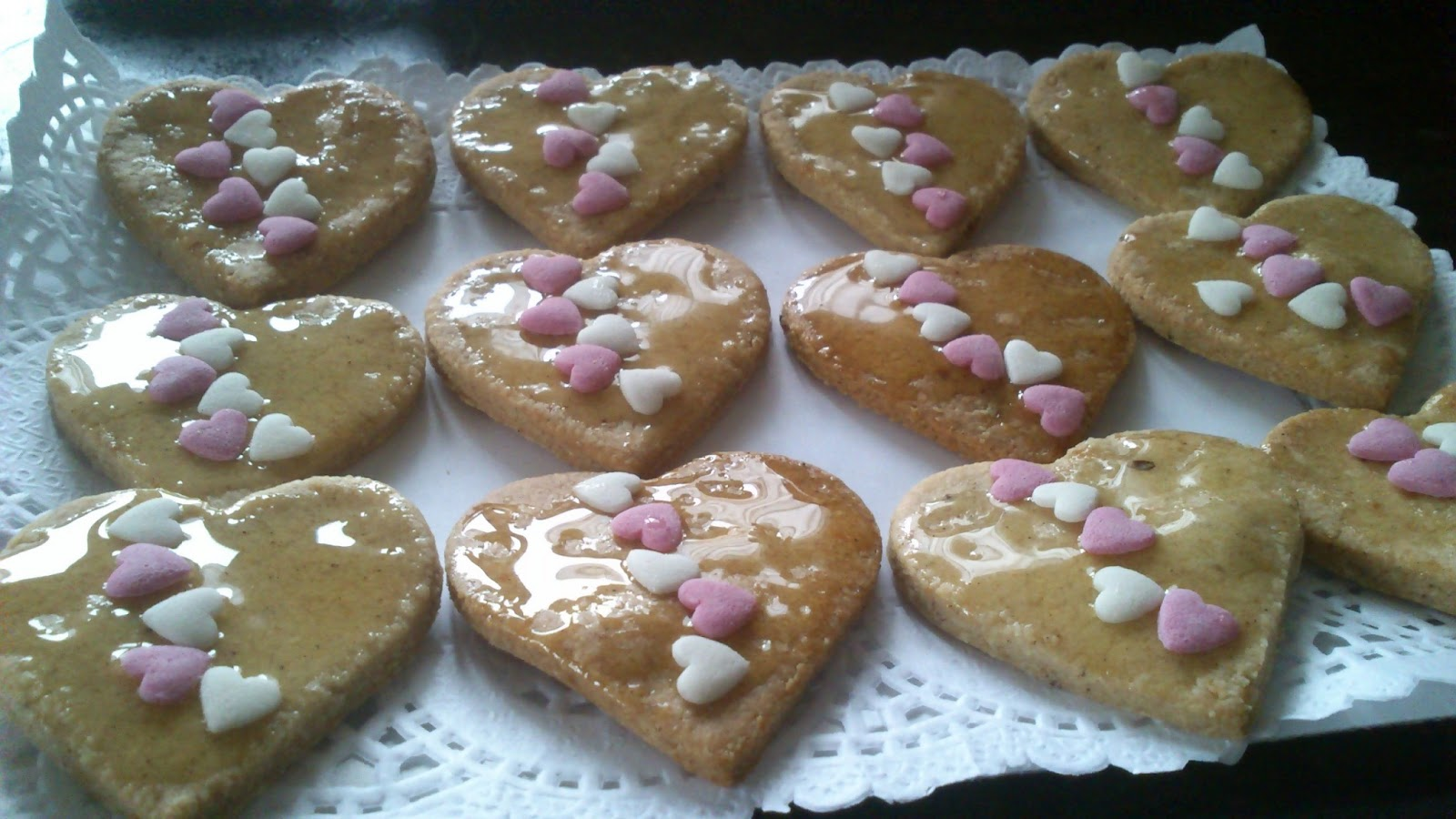Galletas de almendra aromáticas y crujientes