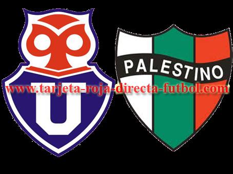 udechile, rojadirecta, palestino, futbol