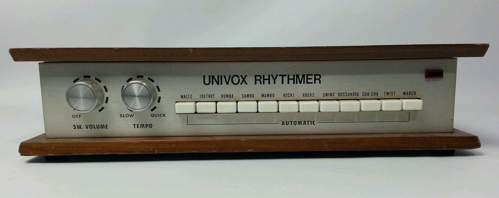 univox drum machine eBay