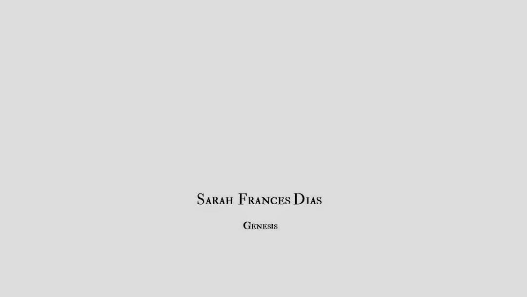 SARAH FRANCES DIAS