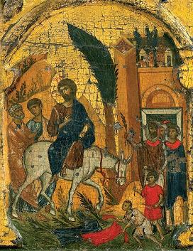DOMINGO DE RAMOS (Mt 21, 1-11). Comienza La Semana Santa