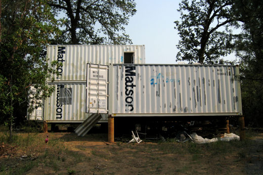 Shipping container homes kathy tafel ktainer california 4 shipping container home - Container homes california ...