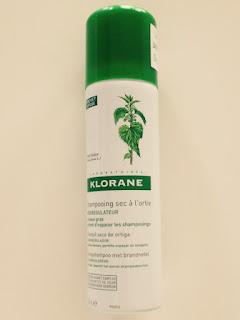 Klorane droogshampoo